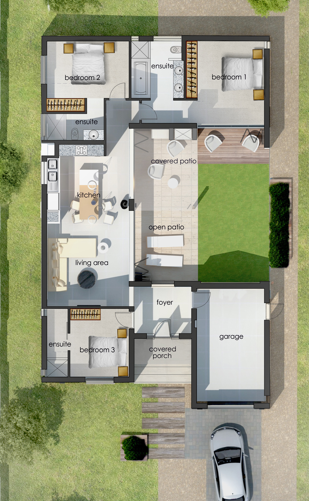 Verde house Floor Plan 12892